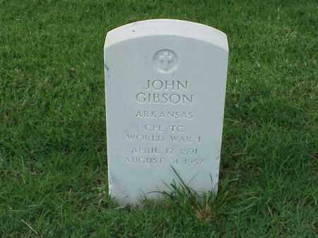 GIBSON (VETERAN WWI), JOHN - Pulaski County, Arkansas | JOHN GIBSON (VETERAN WWI) - Arkansas Gravestone Photos