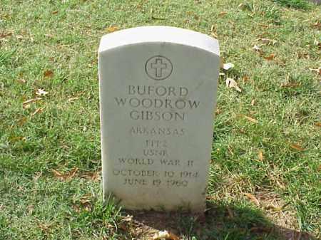 GIBSON (VETERAN WWII), BUFORD WOODROW - Pulaski County, Arkansas | BUFORD WOODROW GIBSON (VETERAN WWII) - Arkansas Gravestone Photos
