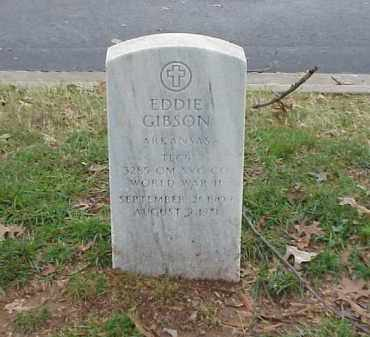 GIBSON (VETERAN WWII), EDDIE - Pulaski County, Arkansas | EDDIE GIBSON (VETERAN WWII) - Arkansas Gravestone Photos
