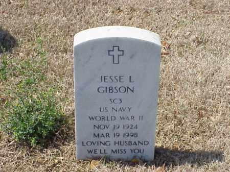 GIBSON (VETERAN WWII), JESSE L - Pulaski County, Arkansas | JESSE L GIBSON (VETERAN WWII) - Arkansas Gravestone Photos