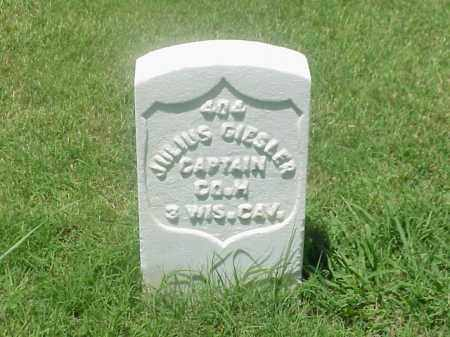 GIESLER (VETERAN UNION), JULIUS - Pulaski County, Arkansas | JULIUS GIESLER (VETERAN UNION) - Arkansas Gravestone Photos