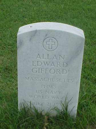 GIFFORD (VETERAN WWI), ALLAN EDWARD - Pulaski County, Arkansas | ALLAN EDWARD GIFFORD (VETERAN WWI) - Arkansas Gravestone Photos