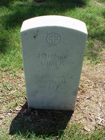 GIGER (VETERAN VIET), JOHN R - Pulaski County, Arkansas | JOHN R GIGER (VETERAN VIET) - Arkansas Gravestone Photos