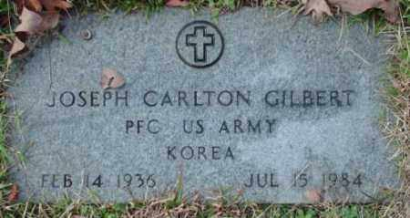 GILBERT (VETERAN KOR), JOSEPH CARLTON - Pulaski County, Arkansas | JOSEPH CARLTON GILBERT (VETERAN KOR) - Arkansas Gravestone Photos