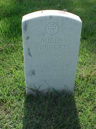 GILBERT (VETERAN WWI), MILES - Pulaski County, Arkansas | MILES GILBERT (VETERAN WWI) - Arkansas Gravestone Photos