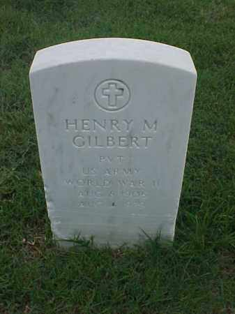 GILBERT (VETERAN WWII), HENRY M - Pulaski County, Arkansas | HENRY M GILBERT (VETERAN WWII) - Arkansas Gravestone Photos