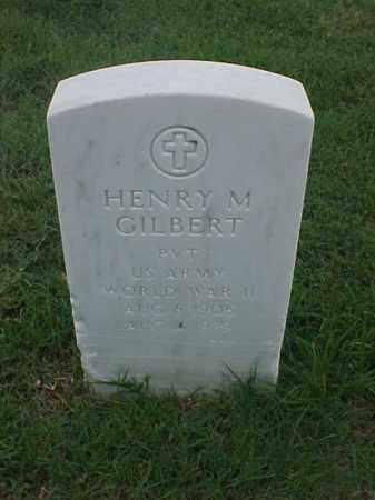 GILBERT (VETERAN WWII), HENRY M - Pulaski County, Arkansas   HENRY M GILBERT (VETERAN WWII) - Arkansas Gravestone Photos