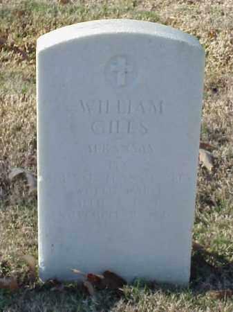 GILES (VETERAN WWI), WILLIAM - Pulaski County, Arkansas | WILLIAM GILES (VETERAN WWI) - Arkansas Gravestone Photos