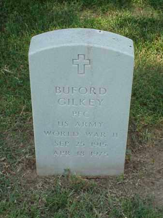 GILKEY (VETERAN WWII), BUFORD - Pulaski County, Arkansas | BUFORD GILKEY (VETERAN WWII) - Arkansas Gravestone Photos