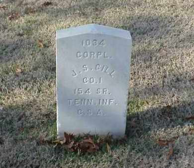 GILL (VETERAN CSA), J S - Pulaski County, Arkansas | J S GILL (VETERAN CSA) - Arkansas Gravestone Photos