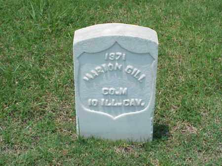 GILL (VETERAN UNION), MARION - Pulaski County, Arkansas | MARION GILL (VETERAN UNION) - Arkansas Gravestone Photos