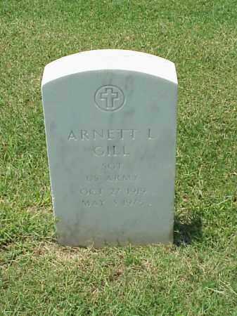 GILL (VETERAN WWII), ARNETT L - Pulaski County, Arkansas | ARNETT L GILL (VETERAN WWII) - Arkansas Gravestone Photos