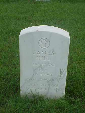GILL (VETERAN WWII), JAMES - Pulaski County, Arkansas | JAMES GILL (VETERAN WWII) - Arkansas Gravestone Photos
