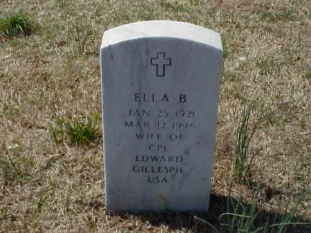 GILLESPIE, ELLA B. - Pulaski County, Arkansas | ELLA B. GILLESPIE - Arkansas Gravestone Photos