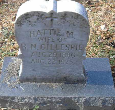 GILLESPIE, HATTIE M - Pulaski County, Arkansas | HATTIE M GILLESPIE - Arkansas Gravestone Photos