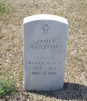 GILLESPIE (VETERAN WWII), JAMES - Pulaski County, Arkansas | JAMES GILLESPIE (VETERAN WWII) - Arkansas Gravestone Photos