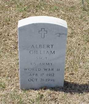GILLIAM (VETERAN WWII), ALBERT - Pulaski County, Arkansas | ALBERT GILLIAM (VETERAN WWII) - Arkansas Gravestone Photos