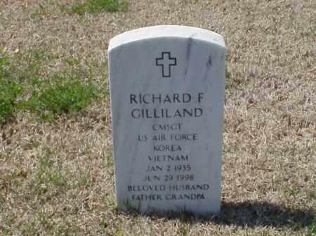 GILLILAND (VETERAN 2 WARS), RICHARD F - Pulaski County, Arkansas | RICHARD F GILLILAND (VETERAN 2 WARS) - Arkansas Gravestone Photos