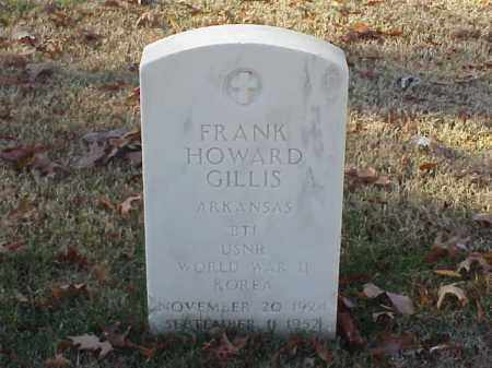 GILLIS  (VETERAN 2 WARS), FRANK HOWARD - Pulaski County, Arkansas | FRANK HOWARD GILLIS  (VETERAN 2 WARS) - Arkansas Gravestone Photos