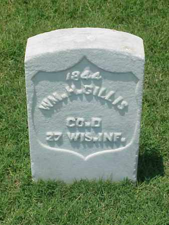 GILLIS (VETERAN UNION), WM H - Pulaski County, Arkansas | WM H GILLIS (VETERAN UNION) - Arkansas Gravestone Photos