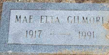 GILMORE, MAE ETTA - Pulaski County, Arkansas | MAE ETTA GILMORE - Arkansas Gravestone Photos