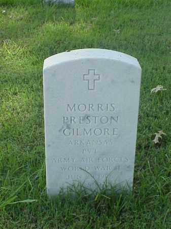 GILMORE (VETERAN WWII), MORRIS PRESTON - Pulaski County, Arkansas | MORRIS PRESTON GILMORE (VETERAN WWII) - Arkansas Gravestone Photos