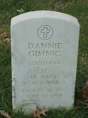 GIMNIC  (VETERAN WWI), DANNIE - Pulaski County, Arkansas | DANNIE GIMNIC  (VETERAN WWI) - Arkansas Gravestone Photos