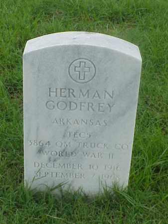 GIODFREY (VETERAN WWII), HERMAN - Pulaski County, Arkansas | HERMAN GIODFREY (VETERAN WWII) - Arkansas Gravestone Photos