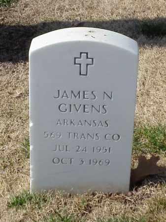 GIVENS  (VETERAN VIET), JAMES N - Pulaski County, Arkansas | JAMES N GIVENS  (VETERAN VIET) - Arkansas Gravestone Photos