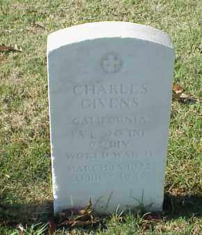 GIVENS  (VETERAN WWII), CHARLES - Pulaski County, Arkansas | CHARLES GIVENS  (VETERAN WWII) - Arkansas Gravestone Photos