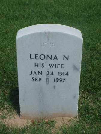 GIVENS, LEONA N - Pulaski County, Arkansas | LEONA N GIVENS - Arkansas Gravestone Photos