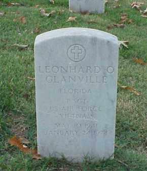 GLANVILLE  (VETERAN VIET), LEONHARD O - Pulaski County, Arkansas | LEONHARD O GLANVILLE  (VETERAN VIET) - Arkansas Gravestone Photos