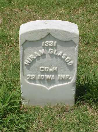 GLASGO (VETERAN UNION), HIRAM - Pulaski County, Arkansas | HIRAM GLASGO (VETERAN UNION) - Arkansas Gravestone Photos