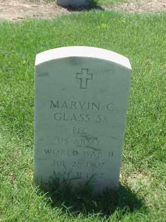 GLASS, SR (VETERAN WWII), MARVIN C - Pulaski County, Arkansas | MARVIN C GLASS, SR (VETERAN WWII) - Arkansas Gravestone Photos