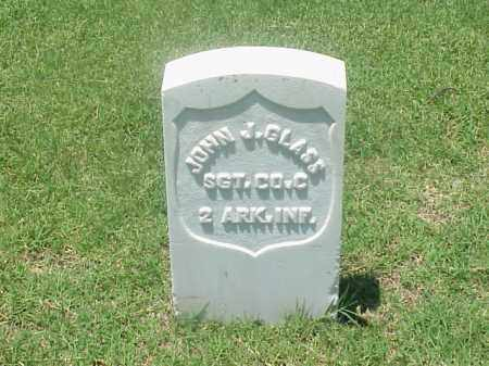 GLASS (VETERAN UNION), JOHN J - Pulaski County, Arkansas | JOHN J GLASS (VETERAN UNION) - Arkansas Gravestone Photos