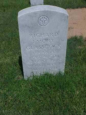 GLASSCOCK (VETERAN WWI), RICHARD EMORY - Pulaski County, Arkansas | RICHARD EMORY GLASSCOCK (VETERAN WWI) - Arkansas Gravestone Photos