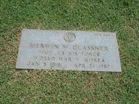 GLASSNER (VETERAN 2 WARS), MERWIN W - Pulaski County, Arkansas | MERWIN W GLASSNER (VETERAN 2 WARS) - Arkansas Gravestone Photos