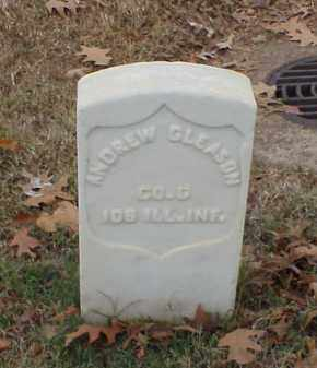 GLEASON  (VETERAN UNION), ANDREW - Pulaski County, Arkansas | ANDREW GLEASON  (VETERAN UNION) - Arkansas Gravestone Photos