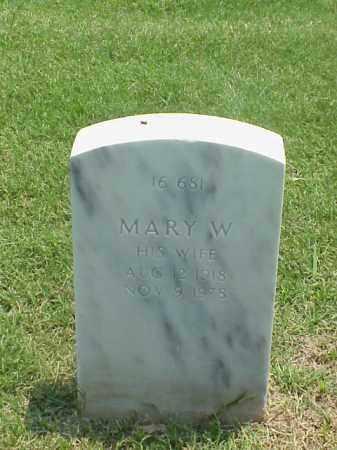 GLEEDEN, MARY W - Pulaski County, Arkansas | MARY W GLEEDEN - Arkansas Gravestone Photos
