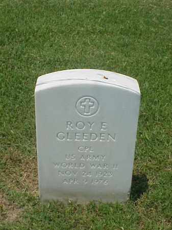 GLEEDEN (VETERAN WWII), ROY E - Pulaski County, Arkansas | ROY E GLEEDEN (VETERAN WWII) - Arkansas Gravestone Photos