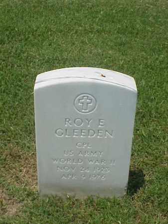 GLEEDEN (VETERAN WWII), ROY E - Pulaski County, Arkansas | ROY E GLEEDEN (VETERAN WWII) - Arkansas Gravestone Photos