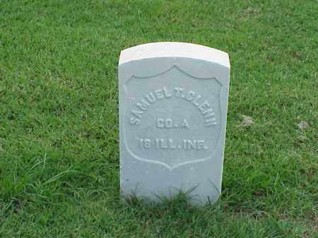 GLENN (VETERAN UNION), SAMUEL T - Pulaski County, Arkansas | SAMUEL T GLENN (VETERAN UNION) - Arkansas Gravestone Photos