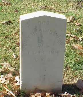 GLIDEWELL  (VETERAN CSA), JOHN H - Pulaski County, Arkansas | JOHN H GLIDEWELL  (VETERAN CSA) - Arkansas Gravestone Photos