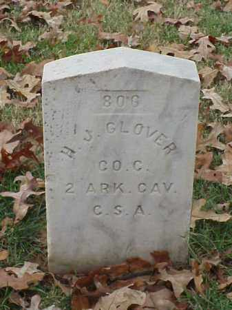 GLOVER  (VETERAN CSA), H J - Pulaski County, Arkansas | H J GLOVER  (VETERAN CSA) - Arkansas Gravestone Photos