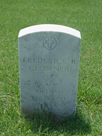GLOWNER (VETERAN VIET), FREDERICK R - Pulaski County, Arkansas | FREDERICK R GLOWNER (VETERAN VIET) - Arkansas Gravestone Photos