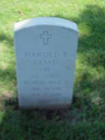 GOAD (VETERAN WWII), HAROLD S - Pulaski County, Arkansas | HAROLD S GOAD (VETERAN WWII) - Arkansas Gravestone Photos