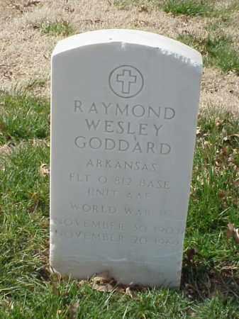 GODDARD  (VETERAN WWII), RAYMOND WESLEY - Pulaski County, Arkansas | RAYMOND WESLEY GODDARD  (VETERAN WWII) - Arkansas Gravestone Photos
