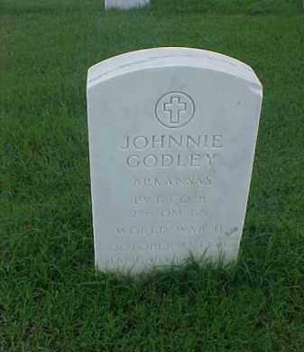 GODLEY (VETERAN WWII), JOHNNIE - Pulaski County, Arkansas | JOHNNIE GODLEY (VETERAN WWII) - Arkansas Gravestone Photos