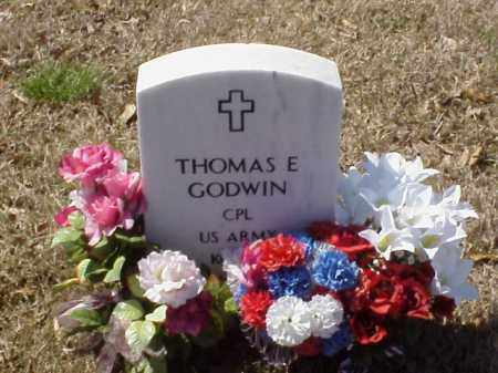 GODWIN  (VETERAN KOR), THOMAS E - Pulaski County, Arkansas | THOMAS E GODWIN  (VETERAN KOR) - Arkansas Gravestone Photos