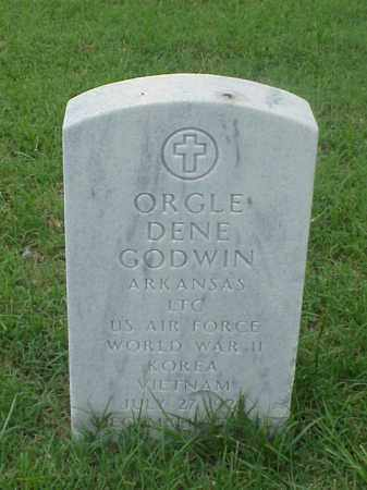 GODWIN (VETERAN 3 WARS), ORGLE DENE - Pulaski County, Arkansas | ORGLE DENE GODWIN (VETERAN 3 WARS) - Arkansas Gravestone Photos
